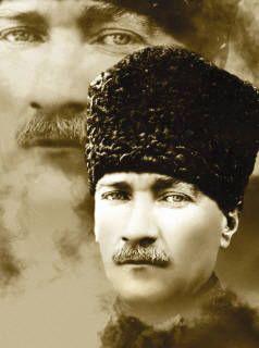 Mustafa Kemal Ataturk; Founder of modern day Turkey.