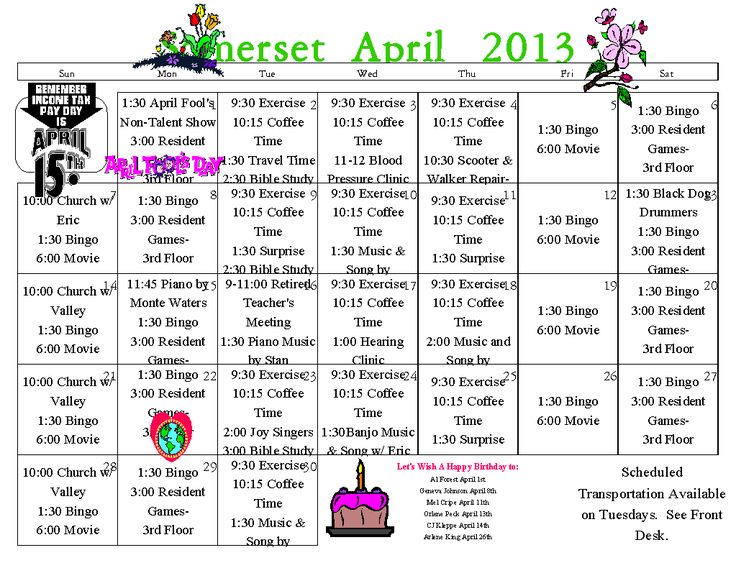 assisted living activity calendar template - 17 images about activity calendars on pinterest senior