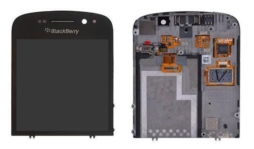 LCD DISPLAY + TOUCH DIGITIZER FOR BLACKBERRY Q10 (BLACK) | eBay