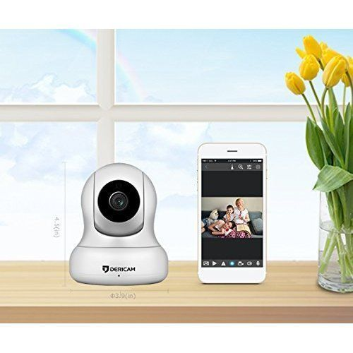 WiFi IP Security Camera 1080P Full HD Audio Night Vision Indoor Pan Tilt Camera #WiFiIPSecurityCamera1080PFullHD