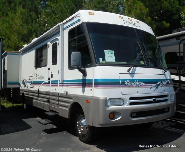 Used Cl A 1998 Itasca Sunflyer Get This Vintage Motorhome Today At Our Ashland