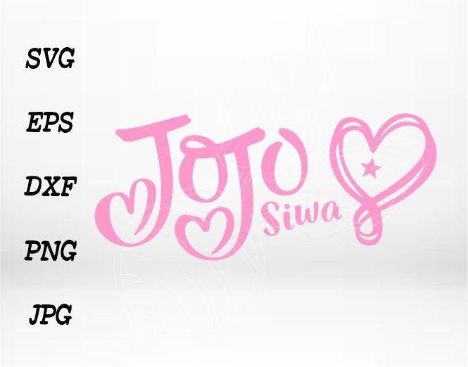 Jojo Siwa Svg Jojo Siwa Birthday Jojo Siwa Logo Jojo Siwa Png Jojo Svg Jojosiwa Digital Jojo Siwa Birthday Jojo Siwa Jojo