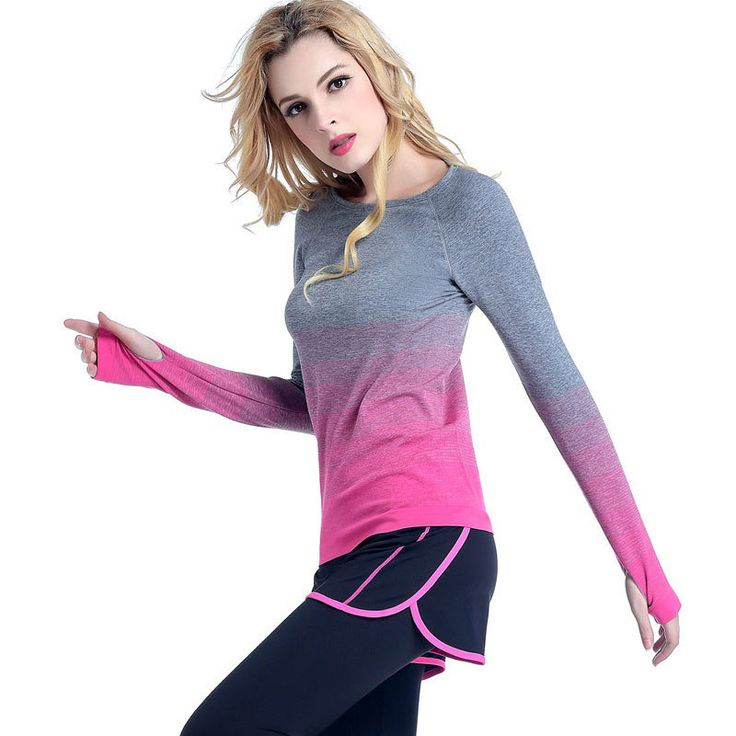 Heal Oranje Vrouwen Yoga Shirts Lange Mouw O hals Sweatshirt Sneldrogende Fitness Sport Jas Voor Fitness Gym Jogging Vrouw Tops in   Heal Oranje Vrouwen Yoga Shirts Lange Mouw O-hals Sweatshirt Sneldrogende Fitness Sport Jas Voor Fitness Gym Jogging V van yoga shirts op AliExpress.com | Alibaba Groep