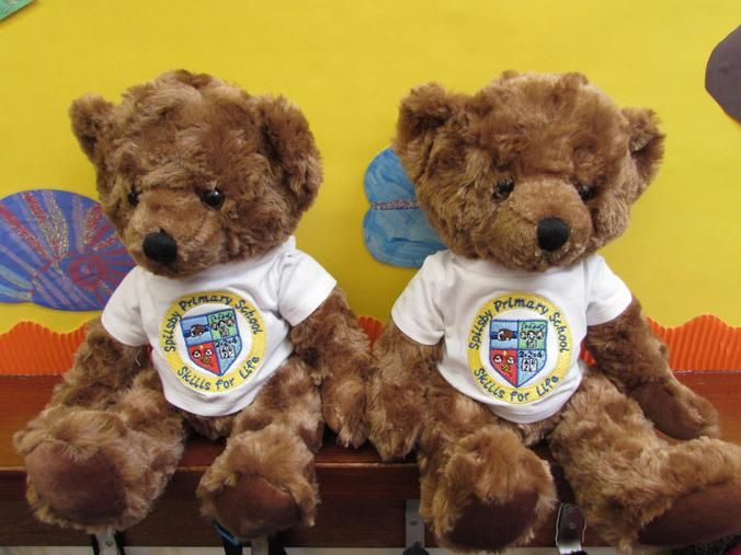 Personalised school bears by Say it with bears