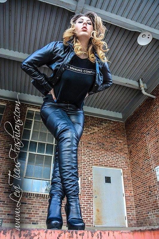 Leviticus thigh boots #Highheelboots | High heel boots ...