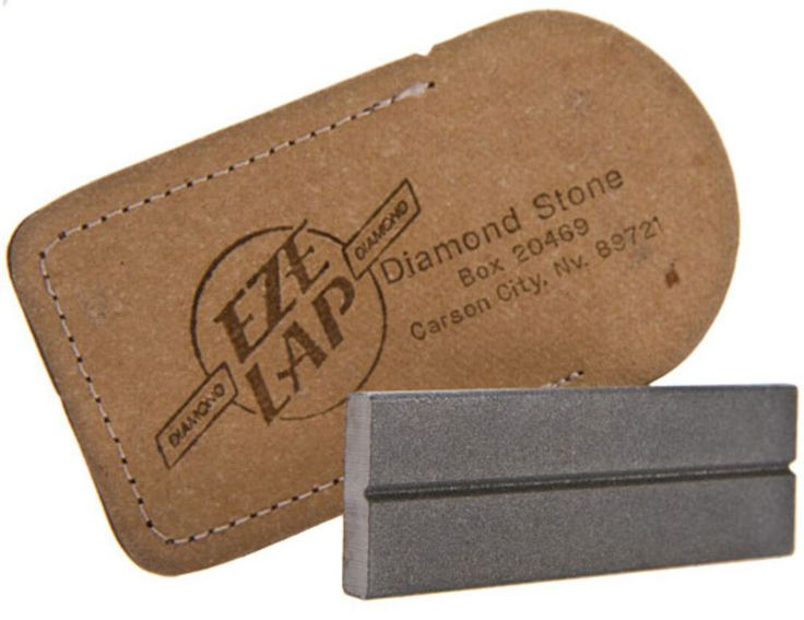 eze lap sharpening stone and pouch