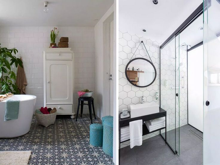 17 best ideas about salle de bain contemporaine on for Deco salle de bain gris et blanc