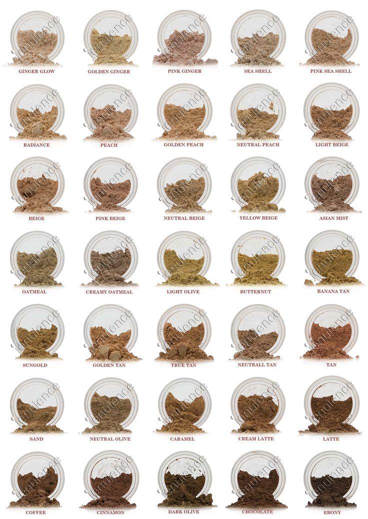 Mineral Makep: Foundation/Concealer Sample Set