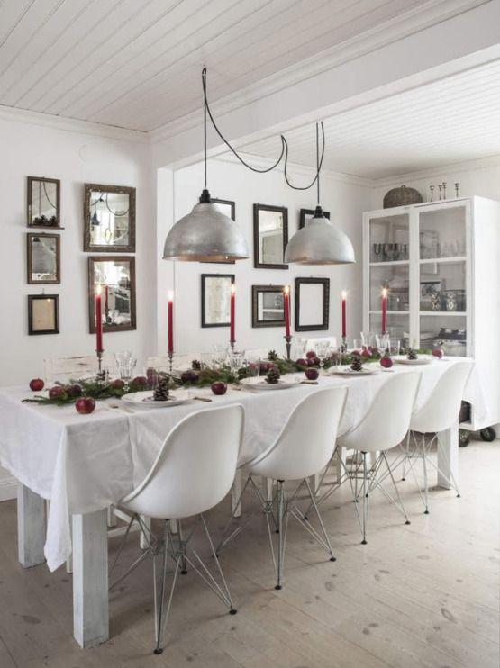 Mesas navideñas - Feliz Navidad - Estilo nórdico | Blog decoración | Muebles diseño | Interiores | Recetas - Delikatissen