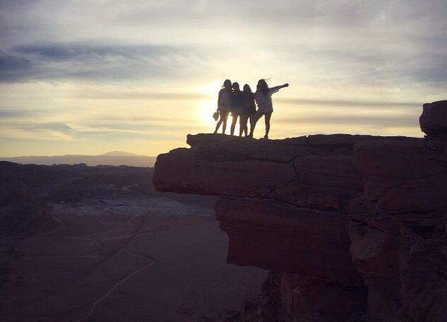 Awesome Place, famale travel, San Pedro de Atacama, Chile, desert