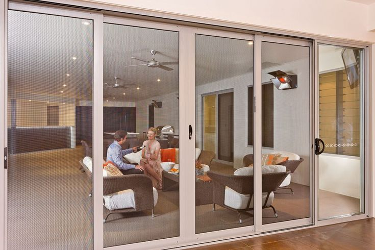 Sliding security doors - without the bars or grilles