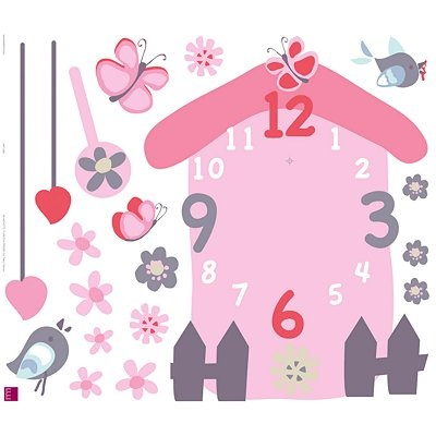 From john lewis · bird box clock wall sticker