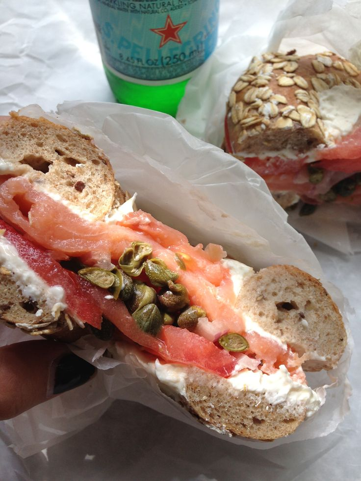 Black Seed Bagels is where it's at in NYC – so delicious!!!