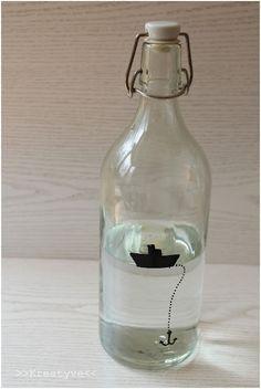 Kreatyve: DIY-Trinkflasche Upstyle
