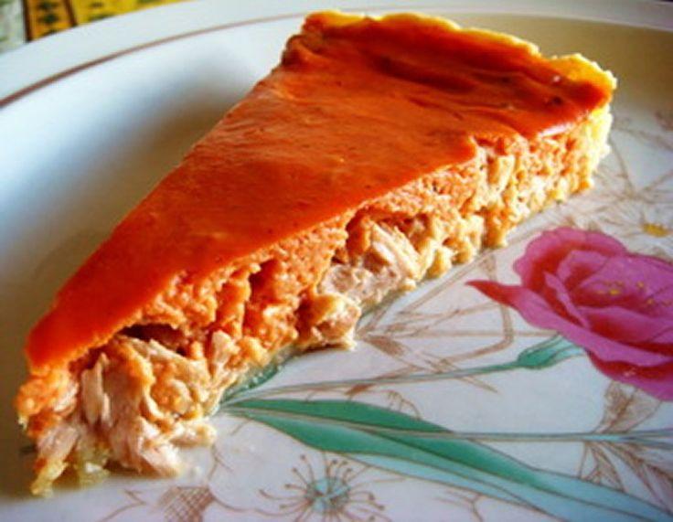 Flan de thon à la tomate avec thermomix