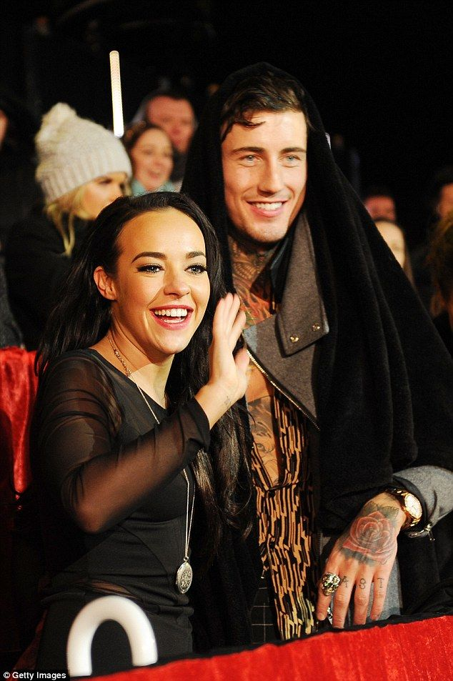 Furious: Jeremy McConnell has slammed claims his rows with his pregnant ex Stephanie Davis caused her hair to fall out, saying it was all down to her over-bleaching it