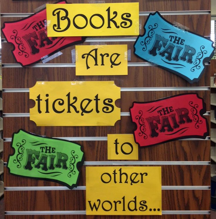 Smells Like Library: BULLETIN BOARDS & DISPLAY : March Book Fair & Easter