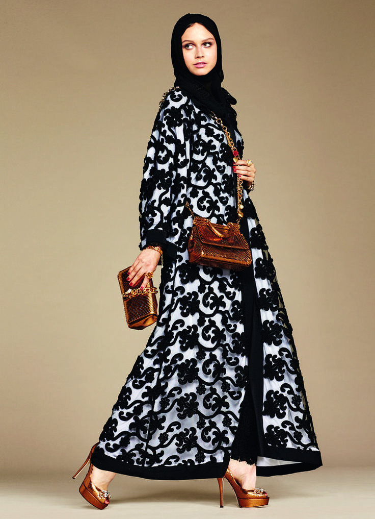Why the Internet Is Freaking Out Over Dolce & Gabbana's Hijab and Abaya Collection