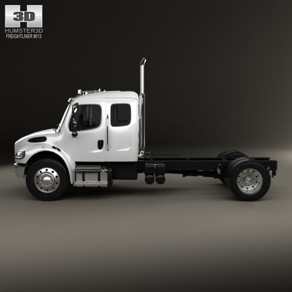 Freightliner M2 Extended Cab Chassis Truck 2014 Freightliner Extended Cab Trucks