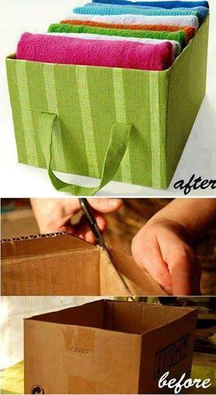 Useful Handmade Box - DIY