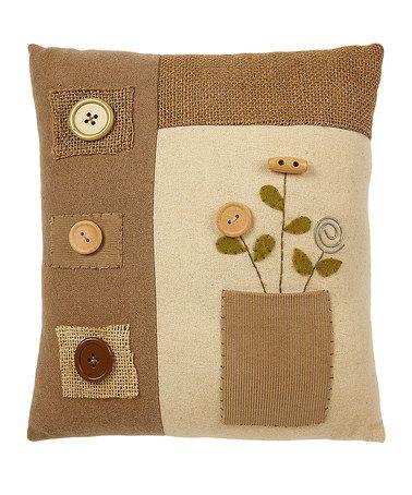 Pocket Full of Posies Pillow