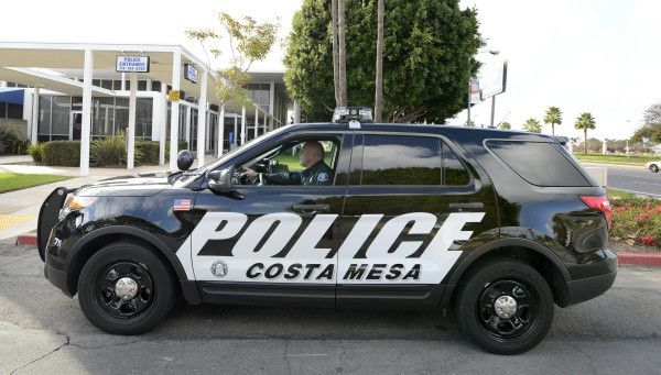 Ca Costa Mesa Pd Police Cars Us Police Car Car Sticker Design