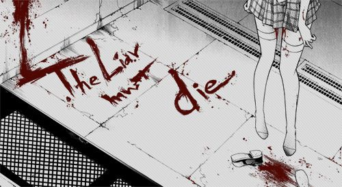 Oo '' If liars must die.. then what does that mean for everyone else? Ahh.. now I see.. EVERYONE on this earth MUST die. We all are liars...waiting to die..'' Oo