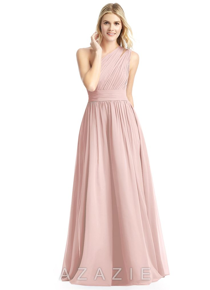 Shop Azazie Bridesmaid Dress - Molly in Chiffon. Find the perfect made-to-order bridesmaid dresses for your bridal party in your favorite color, style and fabric at Azazie.
