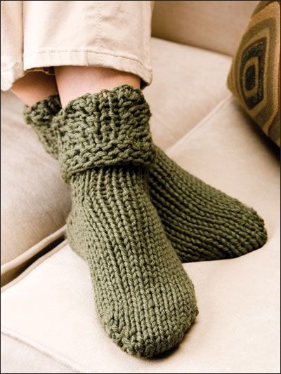 Knitting Pattern For Slippers That Look Like Sneakers : 35 best images about Knitted Socks on Pinterest Free pattern, Knitting patt...