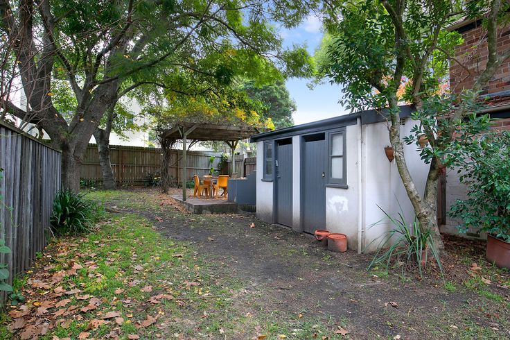 Rear garden shared by just two others - 2/31 Bartlett Street Summer Hill at Pilcher Residential