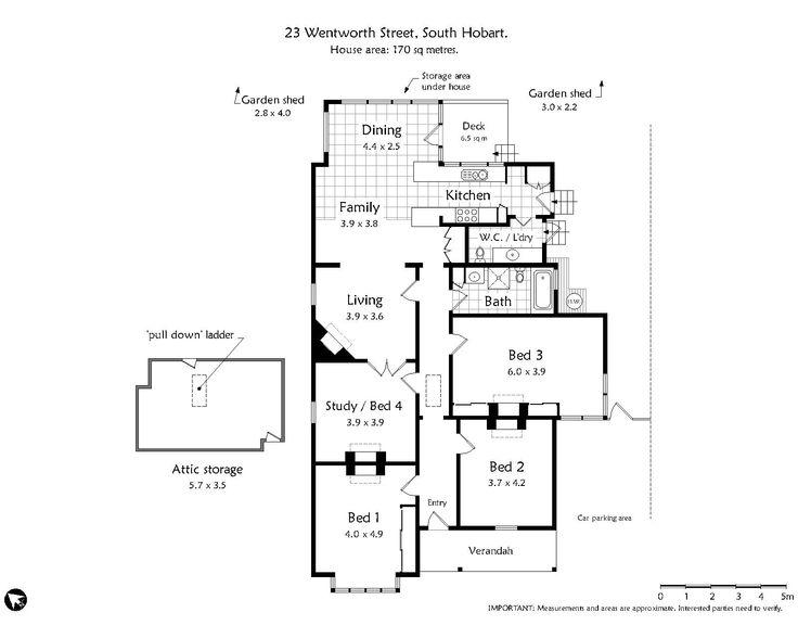 23 Wentworth Street, South Hobart, Tas 7004 - floorplan