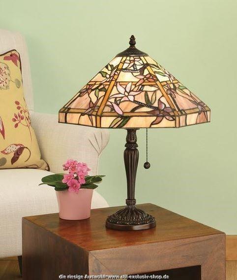 klassische mittlere 40 tiffany tischlampe clematis ohne die beliebten tiffany tisch. Black Bedroom Furniture Sets. Home Design Ideas
