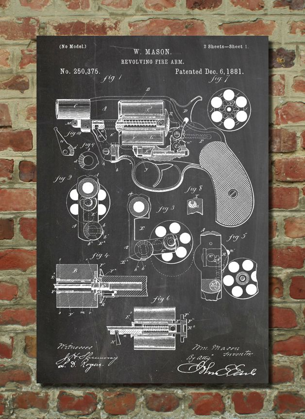 Seriously cool posters from PatentPrints