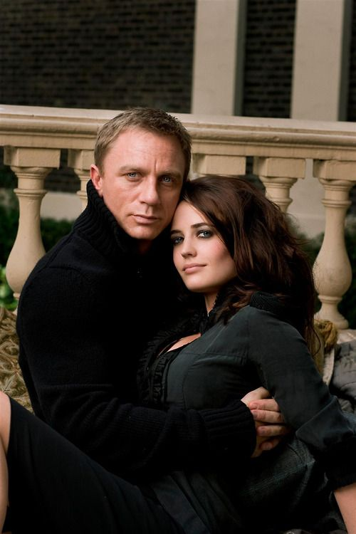"Daniel Craig & Eva Green - James Bond & Vesper Lynd - ""Casino Royale"""