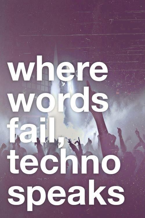 Techno Music House Music Quotes Pinterest Toilets