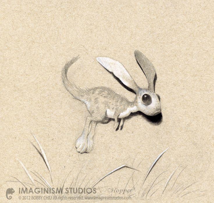 Hopper by Bobby Chiu and Kei Acedera.Studios Blog, Petropoulos Illustration, Bobby Chiu, Imagine Studios, Originals Sold, Drawing Illustration, Art, Animal Fields, Character