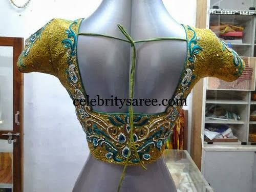 Saree Blouses with Zardosi Work | Saree Blouse Patterns
