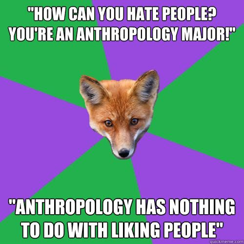 What kind of jobs are available for Anthropology?