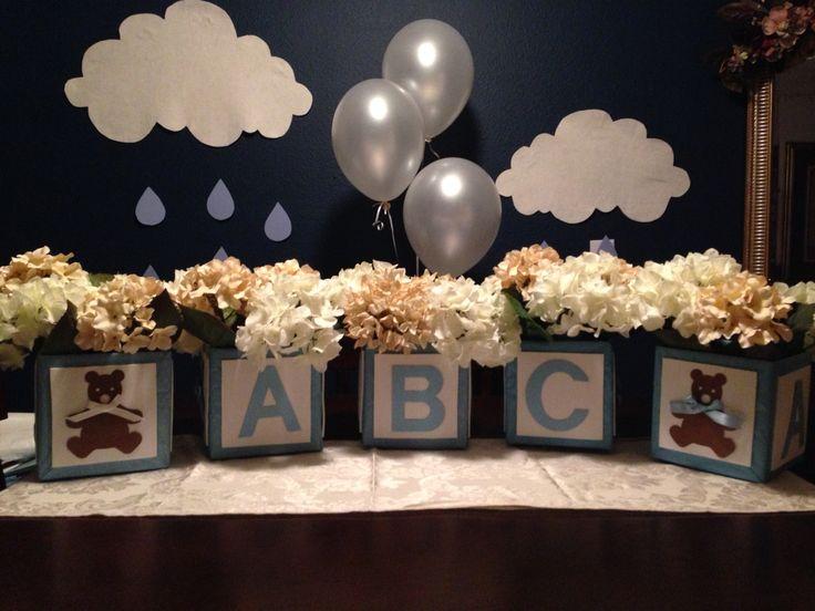 Teddy Bear Theme Center Pieces · Teddy Bear Baby ShowerBear ...