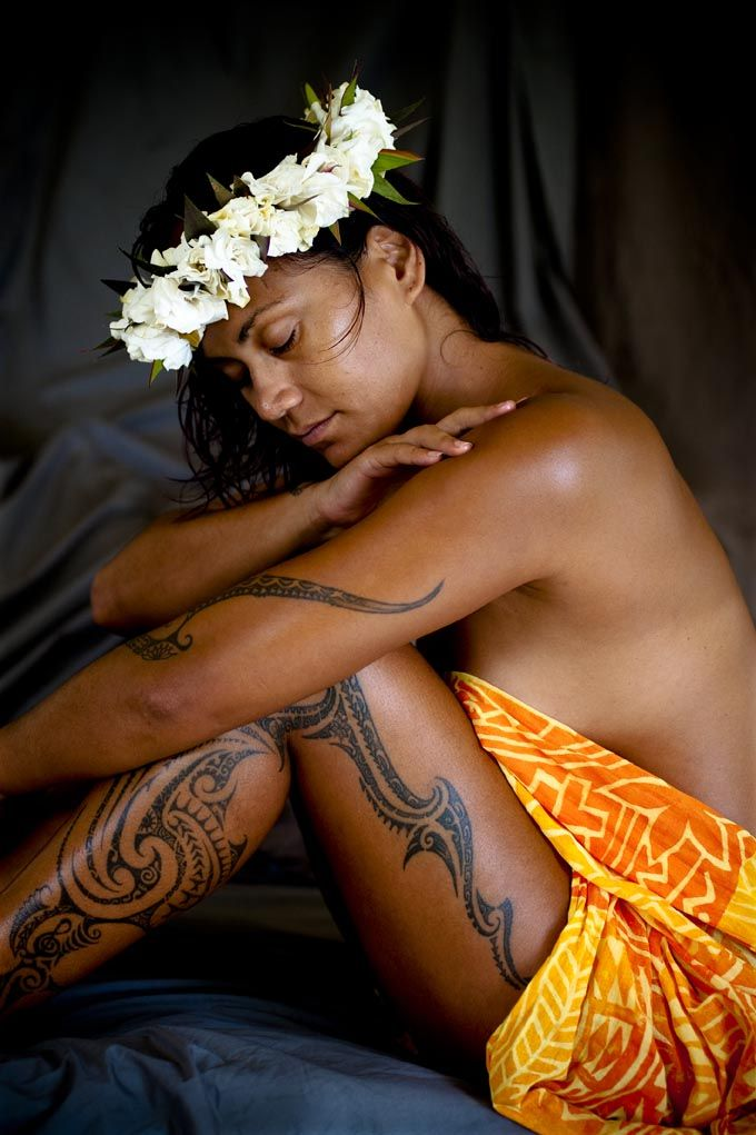 The ancient Polynesian ritual of tattooing is still a big part of the Cook Islands cultural.