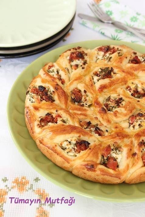 Dalgalı Pide Çörek