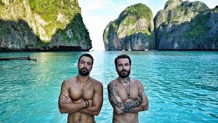 World Party TV Show in Thailand, Alpha TV, with Sakis Tanimanidis and Georgios Mavridis. Wednesday 13 May 2015