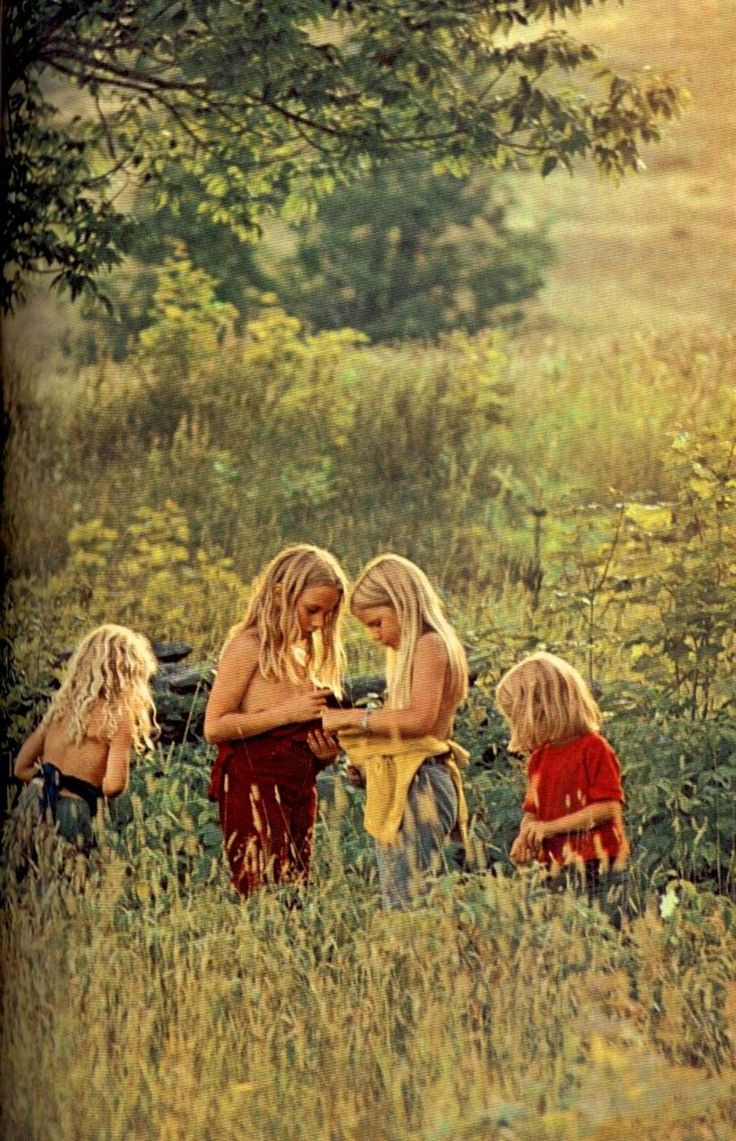 little hippies: