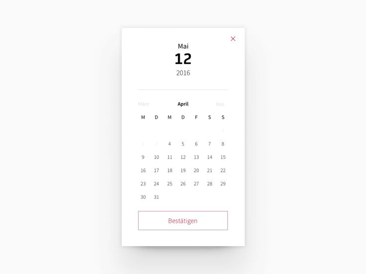 Calendar Widget by COBE