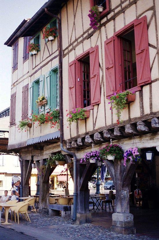 Bastide Mirepoix, France - Beautiful!