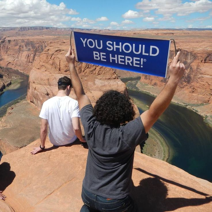 Horseshoe Bend at the Grand Canyon! :D #YSBH