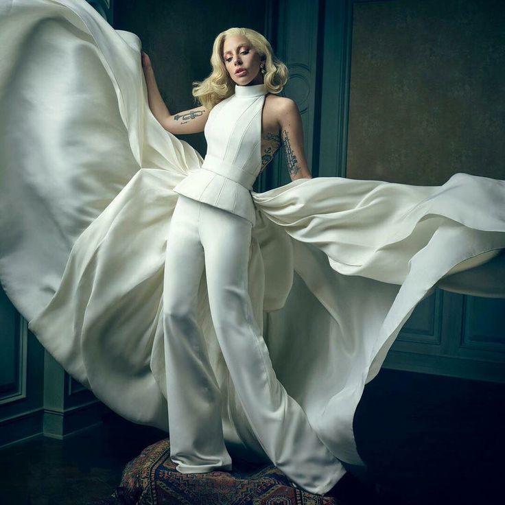 Gaga in white