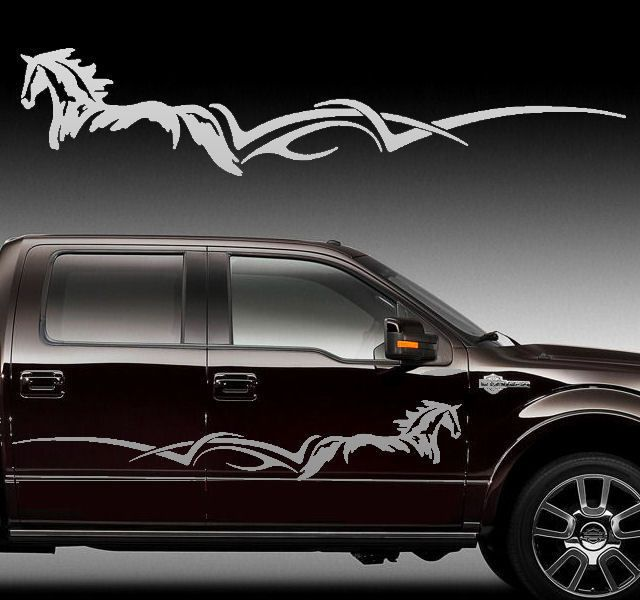 Best Horse  Truck Decals Images On Pinterest Truck Decals - Window decals for vehicles