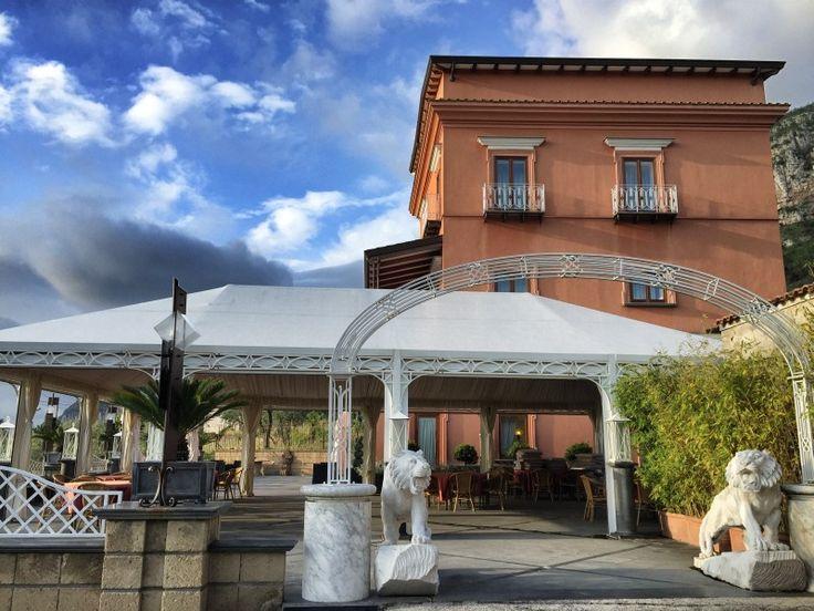 Das Antico Casale Russo ist primär auf Hochzeitsfeiern ausgelegt - es lässt sich aber auch prima dort übernachten!