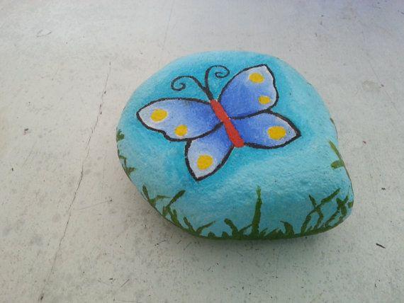Rock Painting Ideas Butterflies Arte Inspire